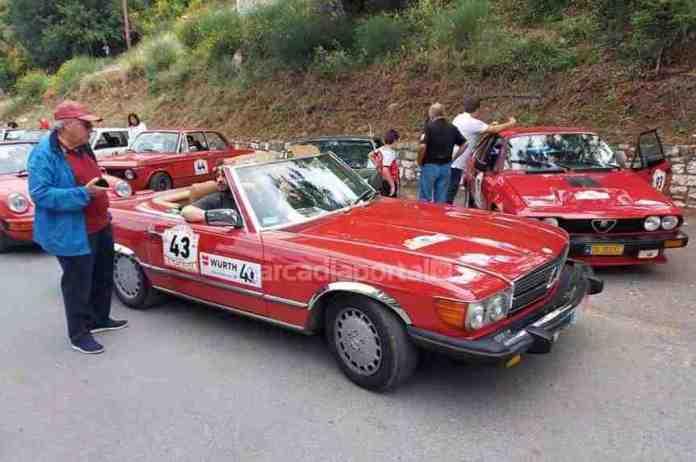 Arcadia Classic Tour 2021: Υπέροχα κλασικά αυτοκίνητα στη Δημητσάνα (pics)