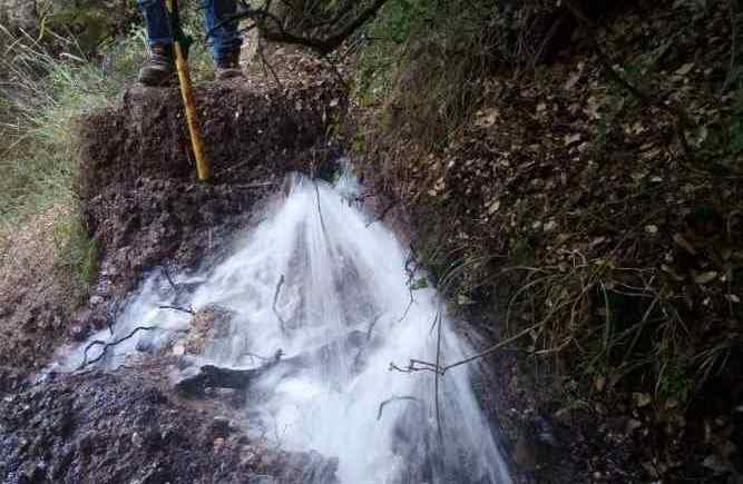 Αποκαταστάθηκε το πρόβλημα υδροδότησης χωριών από την πηγή Σαβαλά
