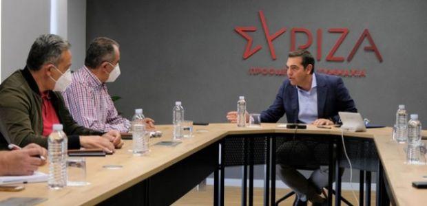 Τσίπρας στη συνάντηση με ΓΕΝΟΠ: Ο Μητσοτάκης εκχωρεί τη ΔΕΗ μέσα σε βαθιά ενεργειακή κρίση