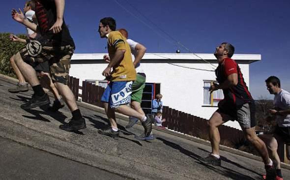 trka u ulici boldvin