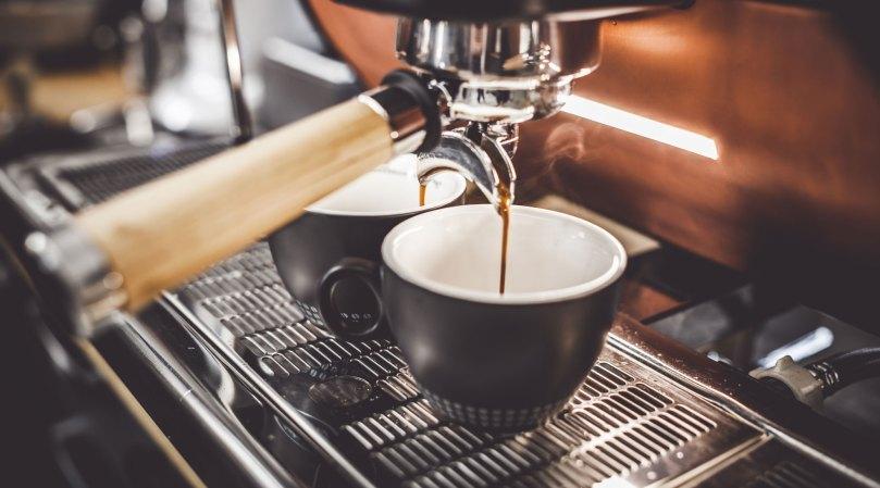 espresso renner ned i to kopper