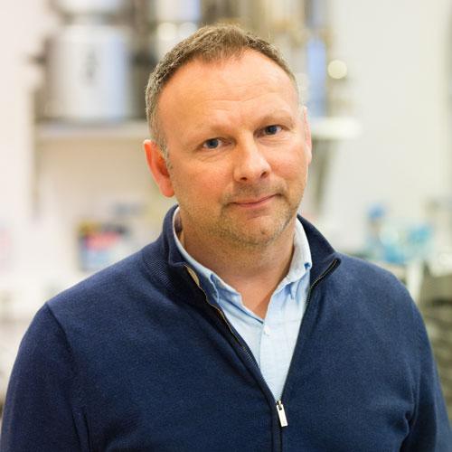 Bilde av Stig Hiller, teknisk sjef hos ECBC