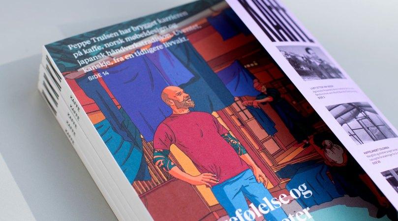 Forside magasinet KAFFE nr. 19