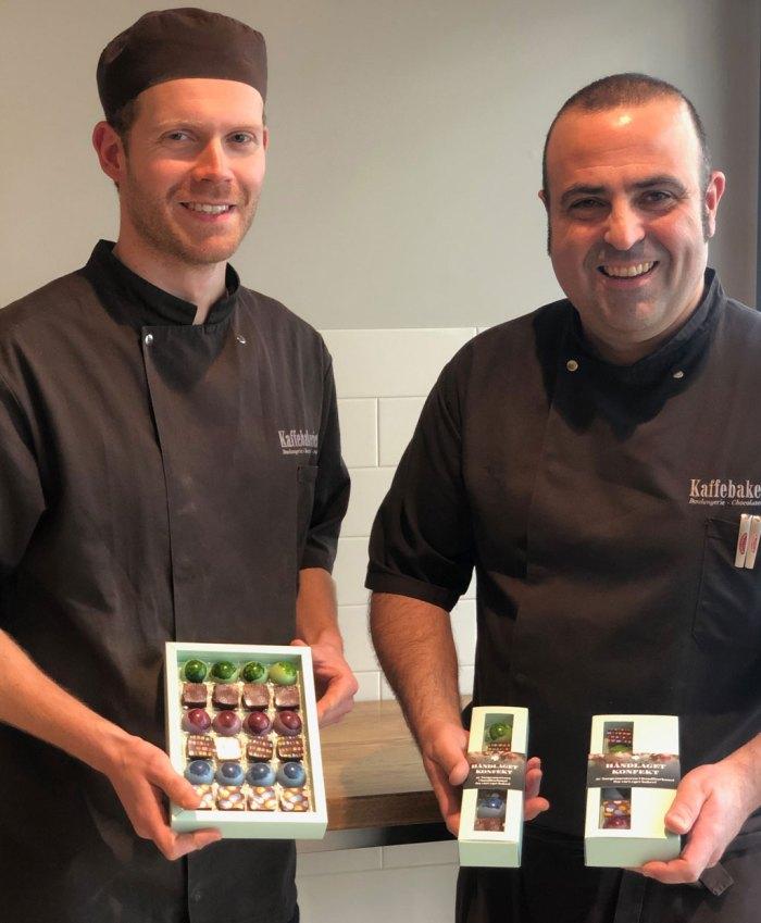 Bilde av ansatte på Kaffebakeriet