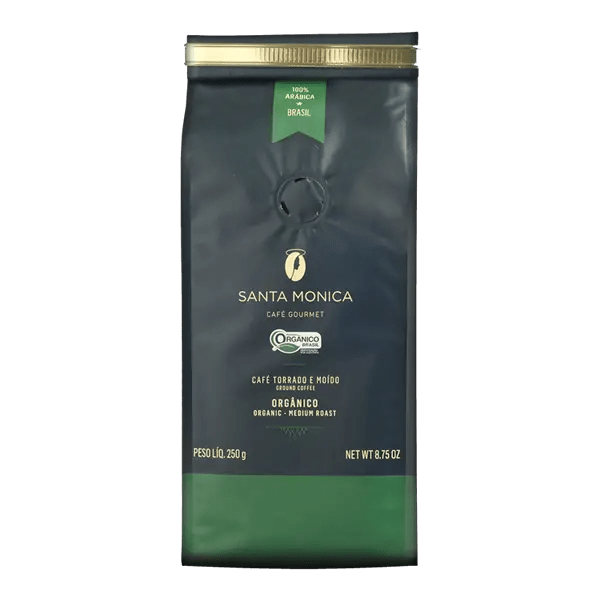 Bio-Kaffee Santa Monica, gemahlen, 250g 1