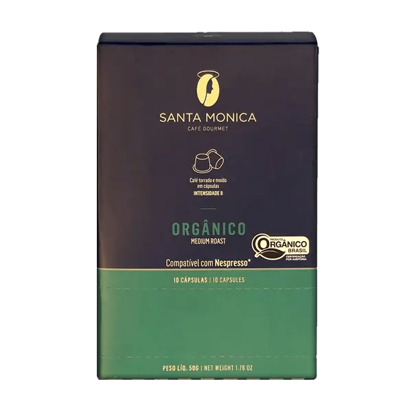 Bio-Kaffee Santa Monica, Kapseln, 10 Stk. 1