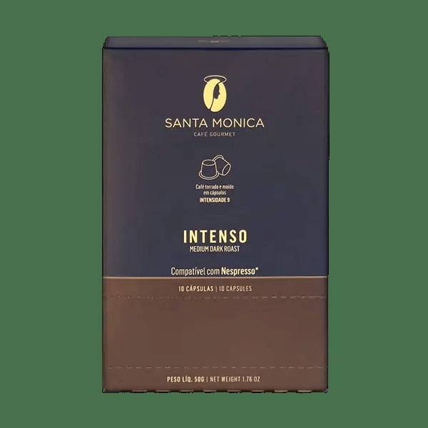 Kaffee Santa Monica Intenso, Kapseln, 10 Stk. 1