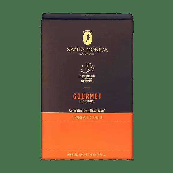 Kaffee Santa Monica Gourmet, Kapseln, 10 Stk. 1