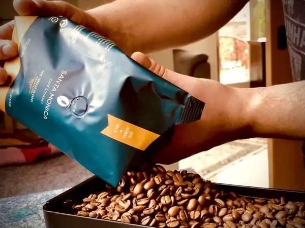 Kaffee kaufen - Santa Monica Gourmet Kaffee, Kaffeebohnen 01