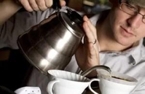 Die meisterschaft beim Filterkaffee