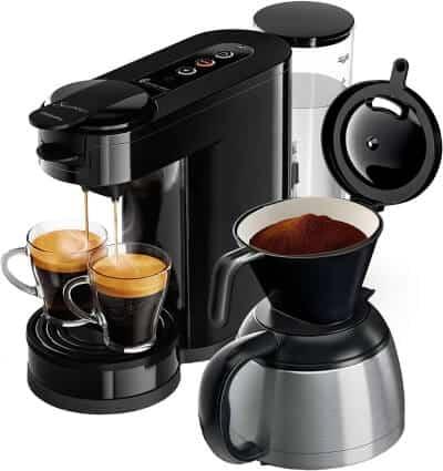 Philips Senseo HD6592/60 - Kaffeemaschine mit Thermoskanne