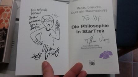 """Widmung in """"Die Philosophie in Star Trek"""""""
