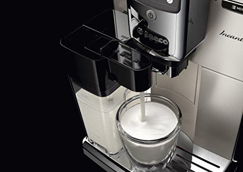 Saeco-HD891701-Incanto-Kaffeevollautomat-AquaClean-integrierte-Milchkaraffe-silber-0-5