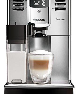 Saeco-HD891701-Incanto-Kaffeevollautomat-AquaClean-integrierte-Milchkaraffe-silber-0