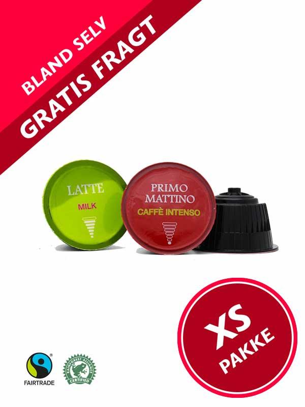 Pakke Dolce Gusto ®* kompatibel kaffekapsler. Pakke tilbud, Pakketilbud - Gratis fragt
