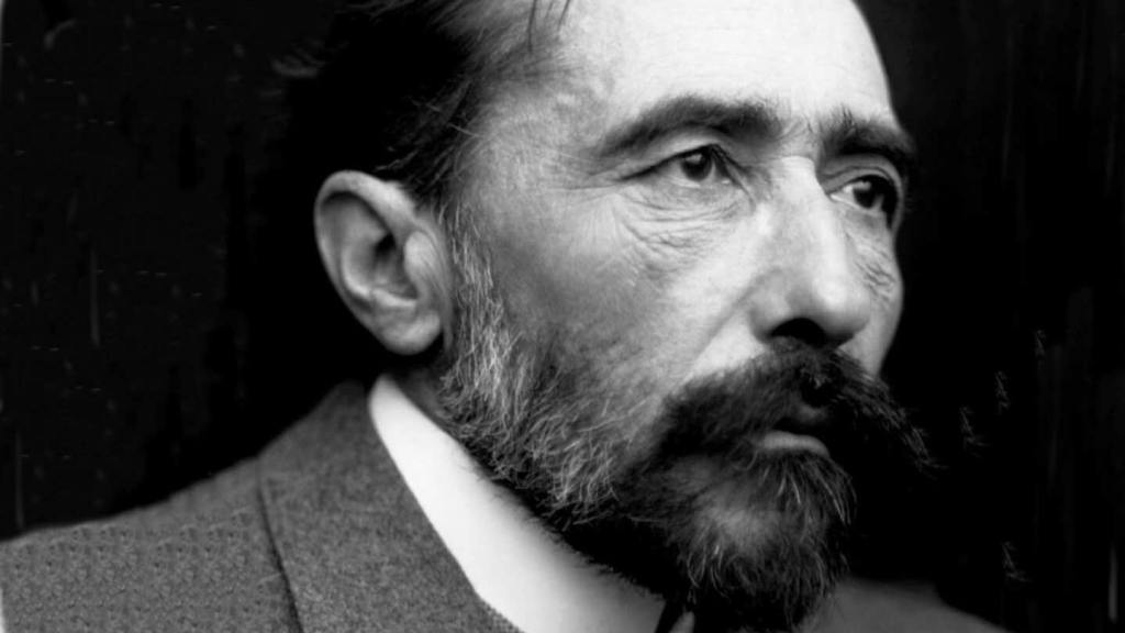 Portrait of Polish-born writer Joseph Conrad
