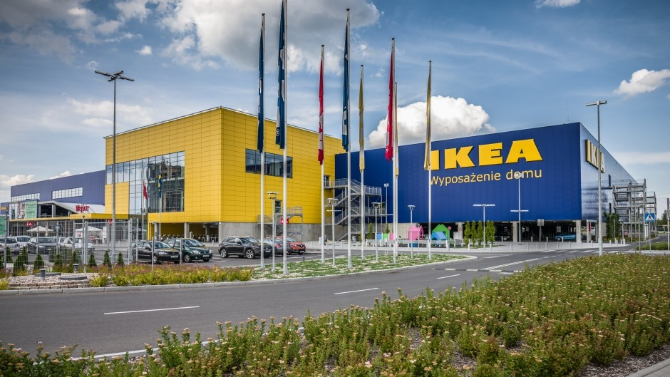 IKEA store in Poland