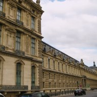 Just one end and part of the Louvre in length!