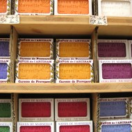 Soap or Savon de Marseilles in lovely colours.