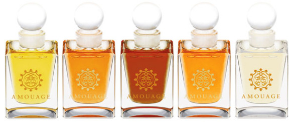 Amouage's attars. Source: adjiumi.it