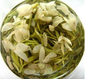 Jasmine tea balls in bloom. Source: aliexpress.com