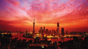 Shanghai skyline. Source: khongthe.com/wallpapers