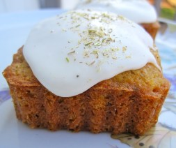 Chamomile honey cake by Erica Dinho at mycolombianrecipes.com (website link with recipe embedded within.)