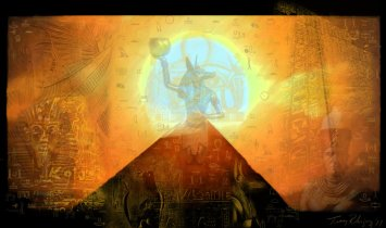"""Ancient Egypt"" by Wiccka. Source: DeviantArt."