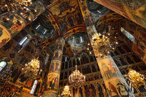 Dormition or Assumption Cathedral at the Kremlin, Moscow. Source: vorotila.ru