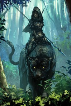 """""""Panther Rider"""" by Jee-Hyung Lee. Source: blog.naver.com/leejeeh84"""