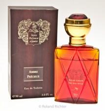 Unreformulated Ambre Precieux EDT in its older, original bottle and box. Photo: Roland Richter. Source: Parfumo.de
