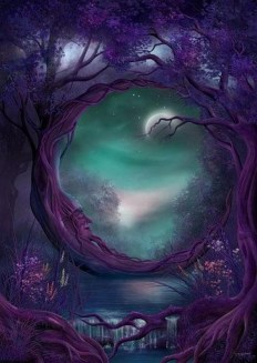 """Moon Man Tree"" via Pinterest. Original artist unknown."