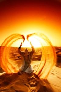 """Desert Angel,"" photo by Marco Antonio Alvarez Iglesias on Flickr. (Direct website link embedded within.)"