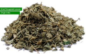 Dried Fenugreek leaves via myspice.com.au
