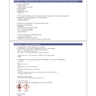 Part of a Robertet Safety Assessment Data Sheet or MSDS for Nutmeg. Source: sevron.co.uk