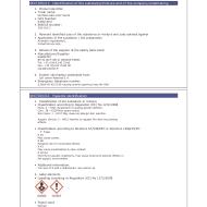 Part of a Robertet Safety Assessment Data Sheet or MSDS for Nutmeg. Source: sevron.co.uk