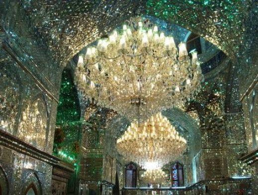 Mosque Shah Cheragh, Shiraz. Source: Wikimedia
