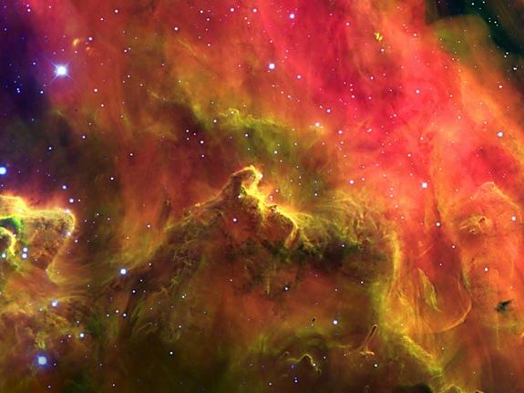Lagoon Nebula. Photo: Gemini Observatory via space.com