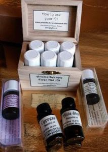 The First Aid & Aromatherapy Kit. Photo & Source: AbdesSalaam Attar.