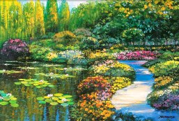 """Monet's Garden"" by Howard Behrens via Pinterest & howardbehrens.com."
