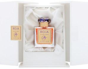 Roja Haute Luxe in its box via Fragrantica.