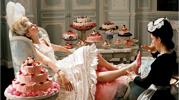 "Movie still from Sofia Coppola's ""Marie Antoinette."" Source: businessinsider.com"