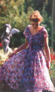 Vintage Laura Ashley via Pinterest.