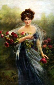 """""""Goddess of Summer,"""" Zula Kenyon, 1910, via Pinterest."""