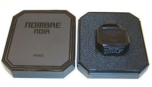Nombre Noir packaging. Photo source: eBay