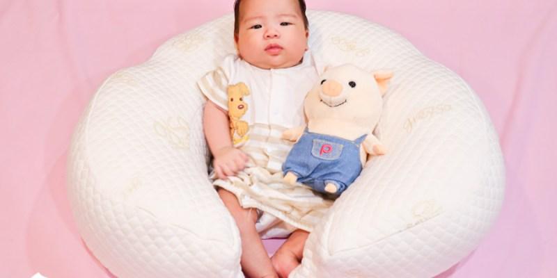 【育兒好物】格蕾莎哺乳護嬰枕|月亮枕媽媽手救星!哺乳枕授乳枕圍欄心得評價