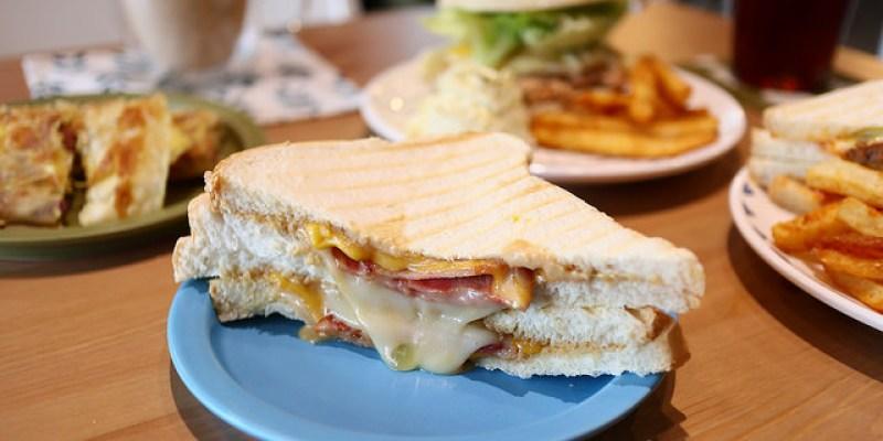 【羅東早午餐】 一起早餐吧工作室17brunchbar 鴨賞蛋餅牛肉漢堡帕里尼與義式咖啡