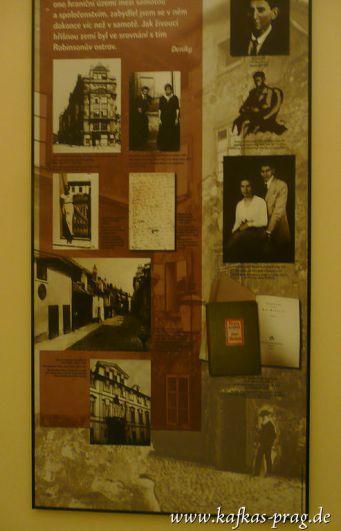 Erinnerungstafel an Kafka in der ehemaligen Arbeiter-Unfallversicherungsanstalt
