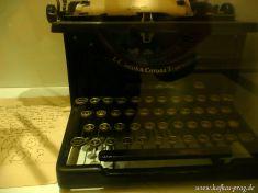 Kafkas Schreibmaschine?