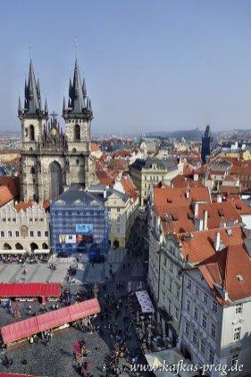 Teynkirche und Pulverturm